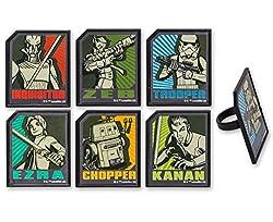 Star Wars Rebels Cupcake Rings 12 Count