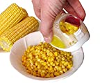 Corn Cob Cutter - Kernel Remover Peeler Kitchen Tool Stainless Steel Blade