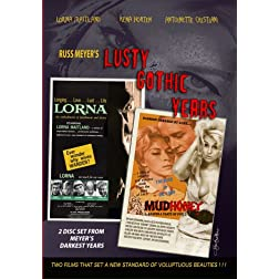 Russ Meyer's LUSTY GOTHIC YEARS 2 Disc Box Set