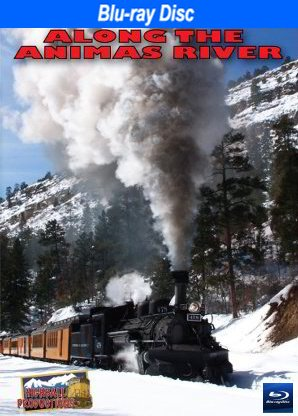 Along the Animas River, The Durango & Silverton Narrow Gauge Railroad