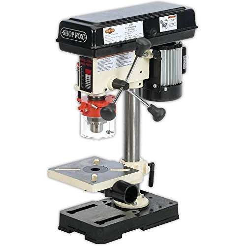 Shop-Fox-W1667-12-HP-8-12-Inch-Bench-Top-Oscillating-Drill-Press