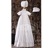 Baby Boys Girls Silk Dupioni Family Pleated Christening Gown 3M-12M