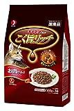 ヅラ猫の好物はカリカリ!食後はお約束のアレやりますよ。