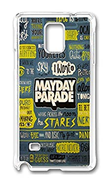 buy Samsung Note 4 Case Mayday Parade Phone Case Custom Transparent Polycarbonate Hard Case For Samsung Note 4