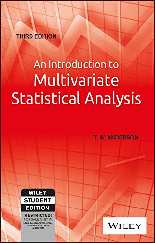 An Introduction to Multivariate Statistical Analysis, 3rd Edition [T. W. Anderson] (Tapa Blanda)