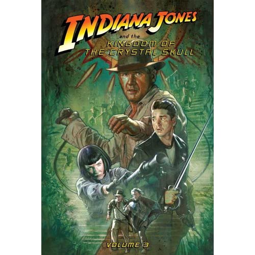 The Kingdom of the Crystal Skull: Volume 3 (Indiana Jones Set II)