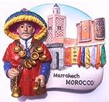 Morocco Marrakech Market WaterMagnet Souvenir Thailand Handmade Design