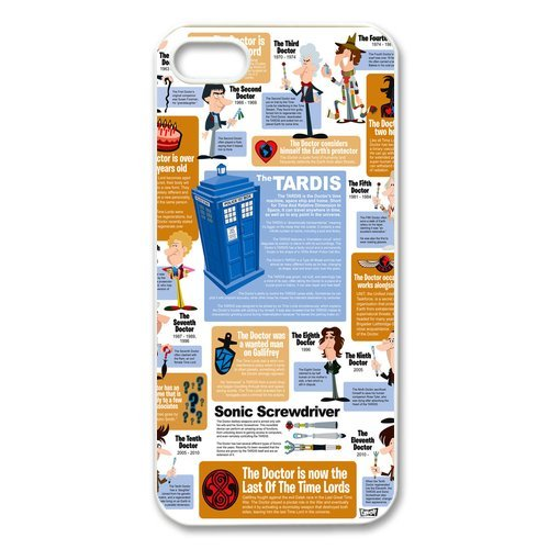 FashionFollower Design Creative Article Series Doctor Who Infographic Special Phone Case Suitable for iphone5 IP5WN42603