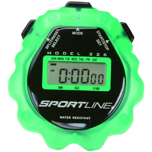 226 Sport Timer Stopwatch (Green) - Home & Health Accessories