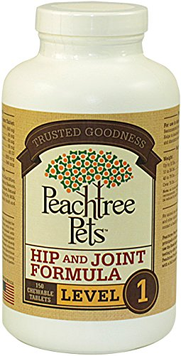 Glucosamine for Dogs - Hip & Joint Formula Level 1 - 150 Chewable Tablets