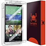 Skinomi® TechSkin - HTC Desire 816 Screen Protector + Full Body Skin Protector / Front & Back Premium HD Clear Film / Ultra High Definition Invisible and Anti-Bubble Crystal Shield with Free Lifetime Replacement Warranty - Retail Packaging