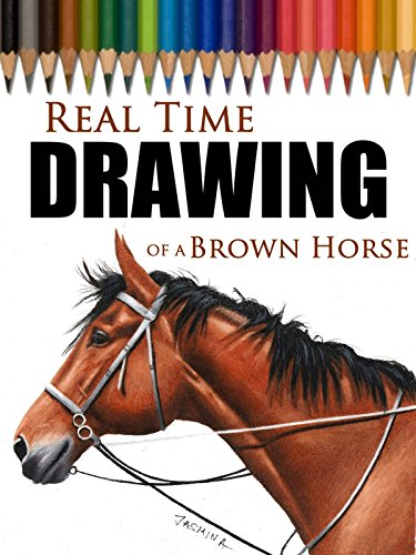 Real Time Drawing of a Brown Horse