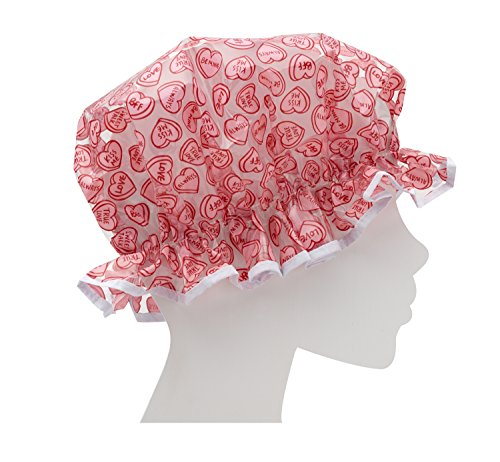 ORE Originals Living Goods Shower Cap, Hearts