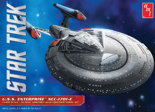 AMT U.S.S. Enterprise 1701-E 1:1400 Scale Model Kit (Enterprise Model compare prices)