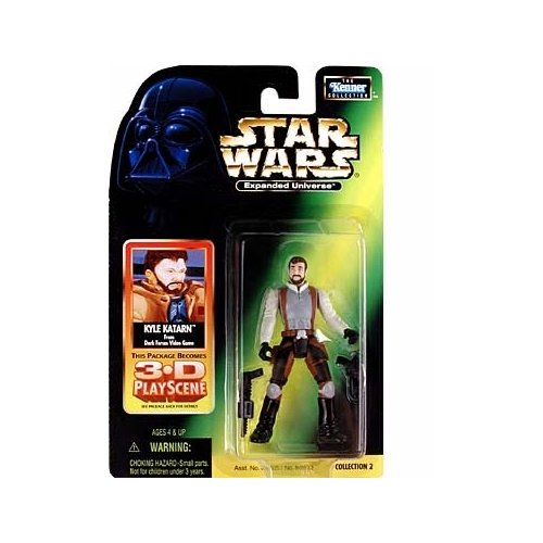 Star Wars: Expanded Universe Kyle Katarn Action Figure - 1