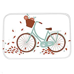 Dearhouse colorful bicycle bike flowers for 70 bike decoration