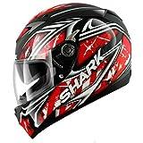 Shark S700-S Jost Helmet - Large/Black/Red/White
