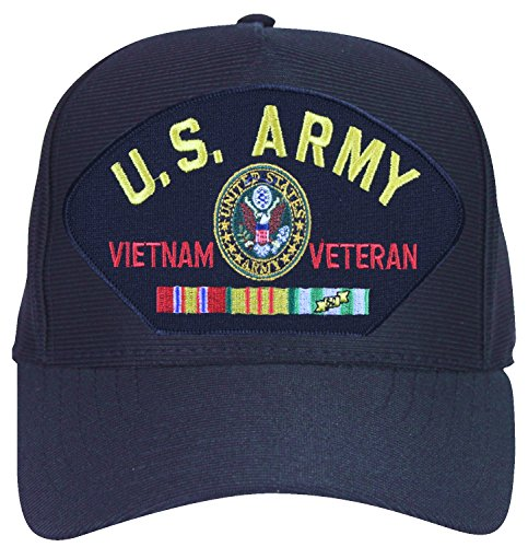b282607aee5a9 U.S. Army Vietnam Veteran with Eagle and Ribbons Ball Cap. by army caps