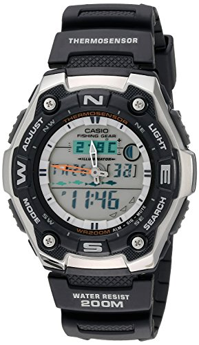 Casio Men's AQW101-1AVCF Active Dial Multi-Task Gear Sport Watch (Amazon Prime Watches compare prices)