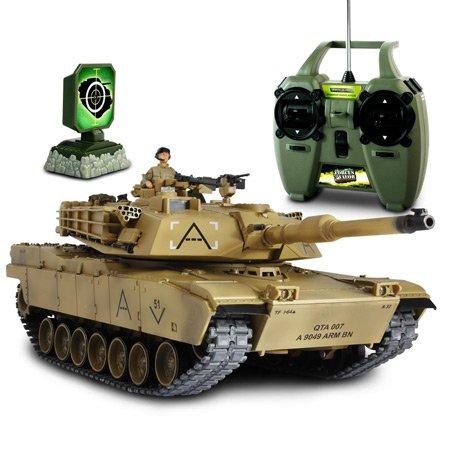1/24 R/C US M1A1 Abram Tank