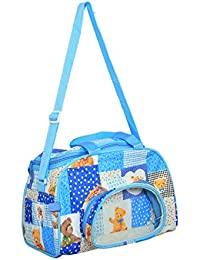 Kuber Industries™ Mama's Bag, Baby Carrier Bag, Diaper Bag, Travelling Bag (Sky Blue) - KUB385 - B07218VN7H