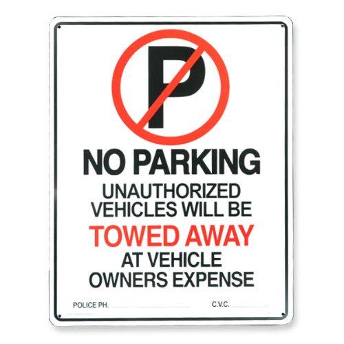 サインボード NO PARKING 駐車禁止