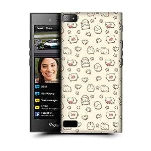 MobileGlaze Designs Cute Animals Print Cute Barn Hard Back Case Cover for BLACKBERRY Z3