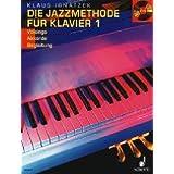 """Die Jazzmethode f�r Klavier: Voicings - Akkorde - Begleitung. Band 1. Klavier. Ausgabe mit CD.von """"Klaus Ignatzek"""""""