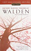 Walden and Civil Disobedience (150th Anniversary) (Signet Classics)