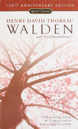 Walden and Civil Disobedience (150th Anniversary) (Signet...