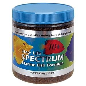 New Life Spectrum Marine Fish Formula 1mm Sinking Pellet Fish Food