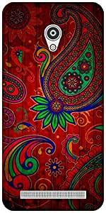 The Racoon Grip Taste of India hard plastic printed back case / cover for Asus Zenfone Go ZC500TG