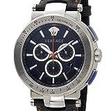 VERSACE ヴェルサーチ メンズ 腕時計 VFG040013 ミスティック スポーツ クロノグラフ ブラック [並行輸入品]