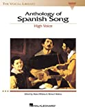 Product 0634029223 - Product title Anthology of Spanish Song - High Voice (The Vocal Library Series) (English and Spanish Edition)