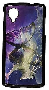 Zeztee ZT5122 3D Design Plastic Mobile Back Cover For Nexus 5 (Multicolor)