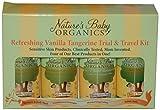 Natures Baby Organics Travel Pack, Vanilla Tangerine