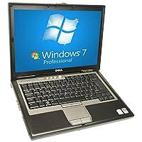 Dell Latitude D630 Laptop Notebook - Core 2 Duo 1.80GHz - 2GB DDR2 - 60GB - DVD/CDRW Windows 7 Pro