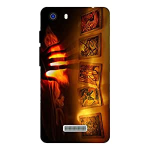 Zeerow 748AQ Mobile Back Cover for Micromax Q372