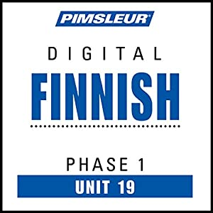 Finnish Phase 1, Unit 19 Audiobook
