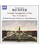 Grandes Sinfonias (1744) N.7-12 (Set 2)