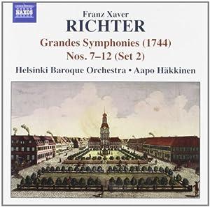 Grandes Symphonies (1744) Nos. 7-12, Set 2
