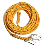 Guardian Fall Protection 01360 VL58-100 Standard 5/8 Inch Thick Rope with Snaphook End, 100-Foot