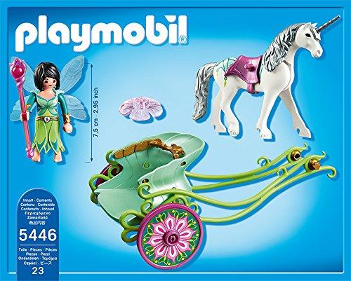 Playmobil-5446-Figurine-Fe-Papillon-Avec-Calche-Et-Licorne
