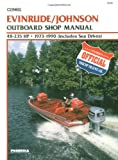 img - for Evinrude/Johnson Outboard Shop Manual 48-235 Hp, 1973 1990 (Clymer Marine Repair Series) book / textbook / text book
