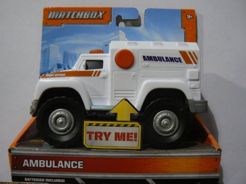 Matchbox Lights and Sounds Ambulance