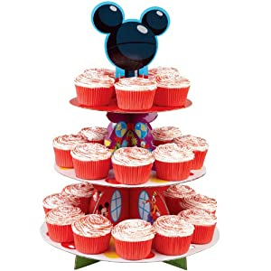 Amazon.com: Disney Mickey Mouse Clubhouse Cupcake Stand