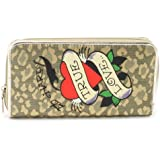 Ed Hardy Spring Zip Around Wallet