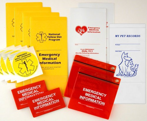 Storesmart® - Emergency Medical Information Variety Pack - Family Variety Pack - Ydotvol-Fvp
