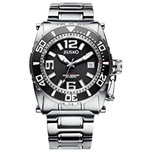 JIUSKO Deep Sea Series Men's Automatic Titanium Luxury Dive Watch 69LSBL02