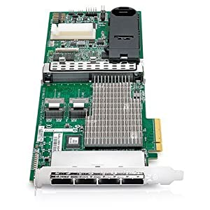 HP 487204-B21 Smart Array P812/1GB Flash 8-ports Int/16-ports Ext PCIe x8 SAS Controller